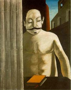 Giorgio De Chirico - The Child's Brain - (paintings reproductions)