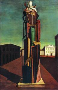 Giorgio De Chirico - The Great Metaphysician - (Famous paintings reproduction)