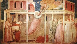 Giotto Di Bondone - Life of St John the Evangelist - [03] - Ascension of the Evangelist