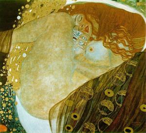 Gustav Klimt - Danae - (Famous paintings)