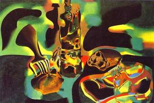 Joan Miro - Still Life with Old Shoe - (oil painting reproductions)