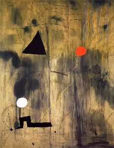 Joan Miro - The Birth of the World - (Famous paintings)