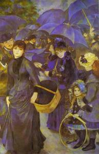 Pierre-Auguste Renoir - The Umbrellas - (paintings reproductions)