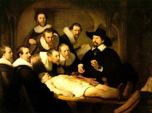 The Anatomy Lecture of Dr. Nicolaes Tulp [1632]