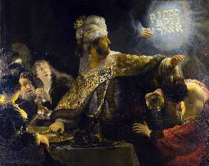 The Feast of Belshazzar [c. 1635]