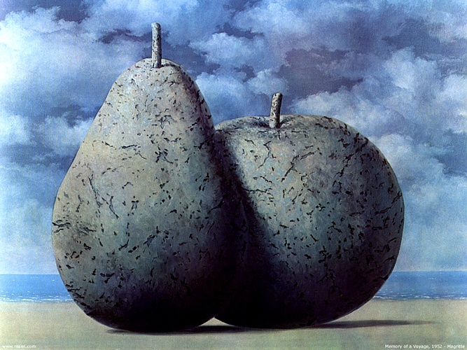 Memory Of A Voyage by Rene Magritte (1898-1967, Belgium) | Museum Quality Reproductions | WahooArt.com