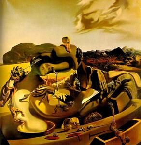 Salvador Dali - Autumn Cannibalism - (Famous paintings)