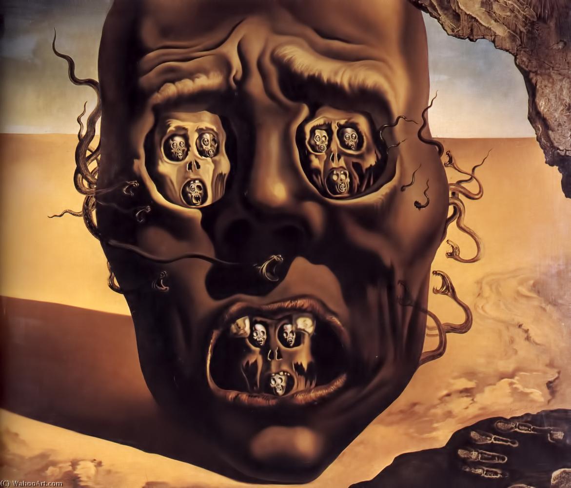 Le Visage De La Guerre De Salvador Dali 1904 1989 Spain