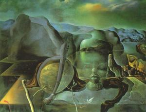 Salvador Dali - The Endless Enigma, 1938 - (Famous paintings reproduction)