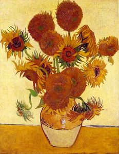 Vincent Van Gogh - Fourteen Sunflowers in a Vase [1888]