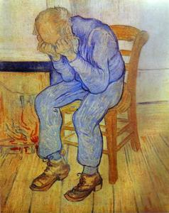Vincent Van Gogh - Old Man in Sorrow - (Famous paintings)