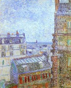 Vincent Van Gogh - Paris Seen from Vincent's Room in the Rue Lepic