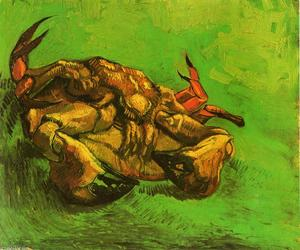 Vincent Van Gogh - Crab on Its Back - (Famous paintings)