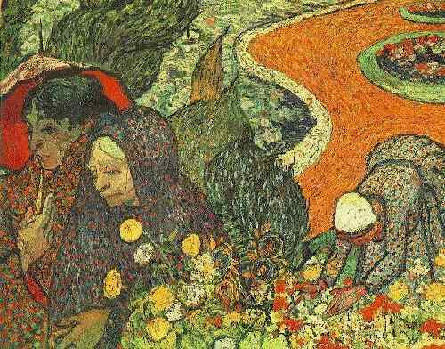 Memory of the Garden at Etten, 1888 by Vincent Van Gogh (1853-1890, Netherlands) | Oil Painting | WahooArt.com