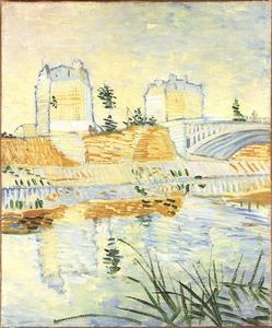 Vincent Van Gogh - Seine with the Pont de Clichy, The