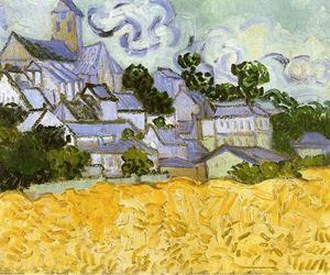 Vincent Van Gogh - View of Auvers with Church