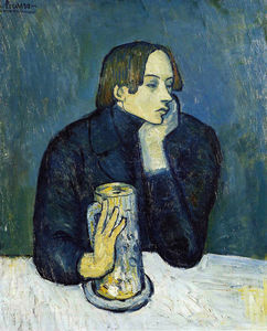Pablo Picasso - Sabartes - (Famous paintings reproduction)