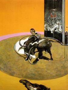 study for bullfight no.1, 1969