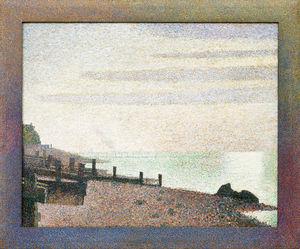 Evening, Honfleur, 1886