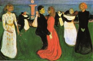 Edvard Munch - The Dance of Life - (paintings reproductions)