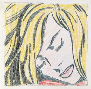Roy Lichtenstein - Sleeping Girl