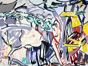 Roy Lichtenstein - Figures in Landscape