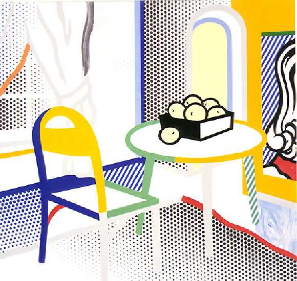 Intyelap97, 1997 by Roy Lichtenstein (1923-1997, United States) | Famous Paintings Reproductions | WahooArt.com