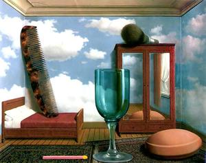 Rene Magritte - Personal values - (paintings reproductions)