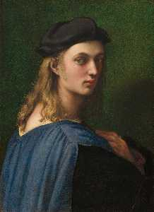 Raphael (Raffaello Sanzio Da Urbino) - Portrait of Bindo Altoviti - (oil painting reproductions)
