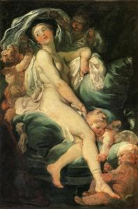 Jean-Honoré Fragonard - The Toilet of Venus