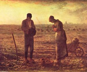 Jean-François Millet - The Angelus - (Buy fine Art Reproductions)