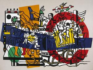Fernand Leger - The Great Parade - (Famous paintings)