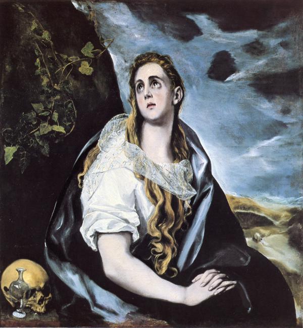 La Magdalena de El Greco