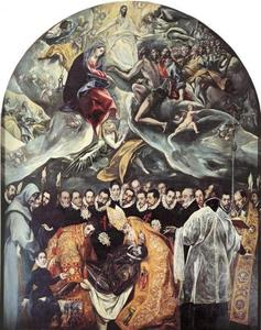 El Greco (Doménikos Theotokopoulos) - The Burial of Count Orgaz