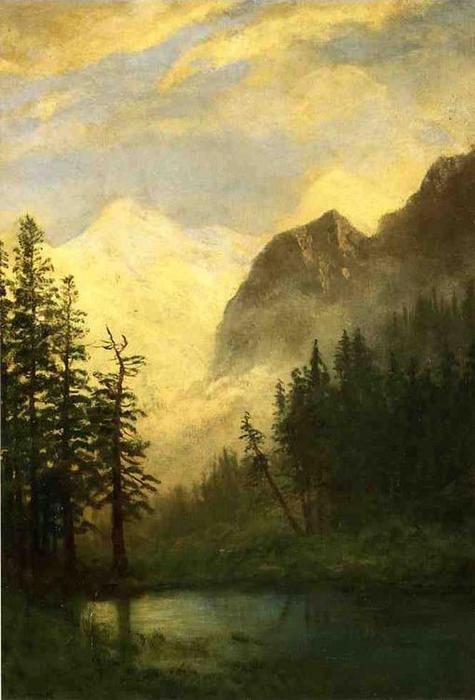 """Résultat de recherche d'images pour """"albert bierstadt nuit"""""""