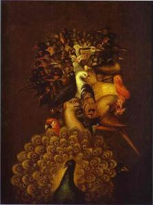 Giuseppe Arcimboldo - Air - (oil painting reproductions)