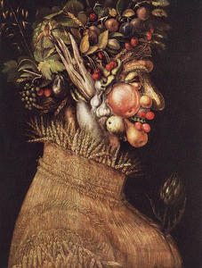 Giuseppe Arcimboldo - Summer 1 - (Famous paintings reproduction)