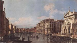 Bernardo Bellotto - View of the Grand Canal at San Stae