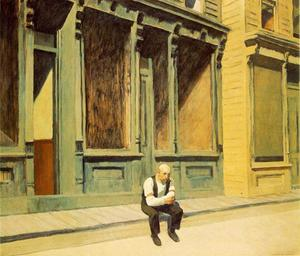 Edward Hopper - Sunday - (paintings reproductions)