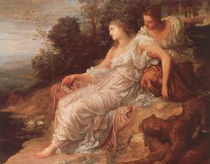 George Frederic Watts - Adriadne on the Island of Naxos
