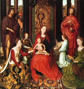 Hans Memling - Marriage of St. Catherine