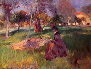 John Singer Sargent - In the Orchard