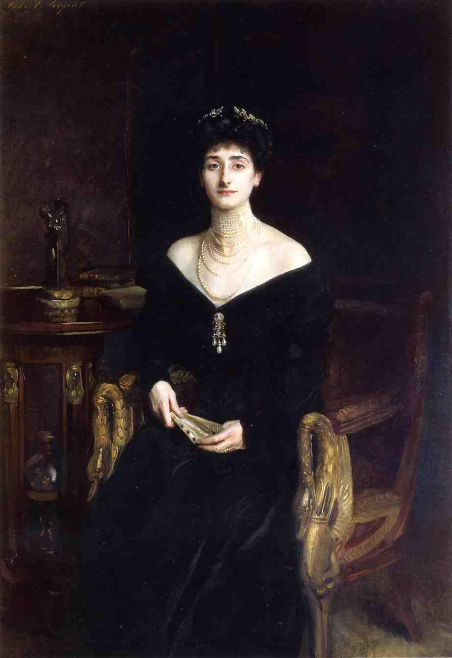 Portrait of Mrs. Ernest G. Raphael, née Florence Cecilia Sassoon - John Singer Sargent