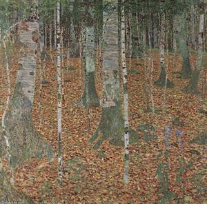 Birch Forest, 1903 - Vienna, Osterreichische Museum für Angewandte Kunst