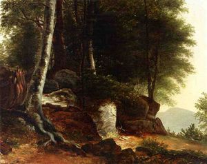 Asher Brown Durand - A study from nature