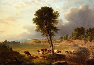 Asher Brown Durand - View in the catskills