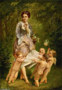 Charles Chaplin - Venus With Putti