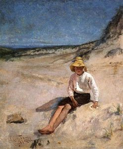 Edmund Charles Tarbell - Boy on the Beach