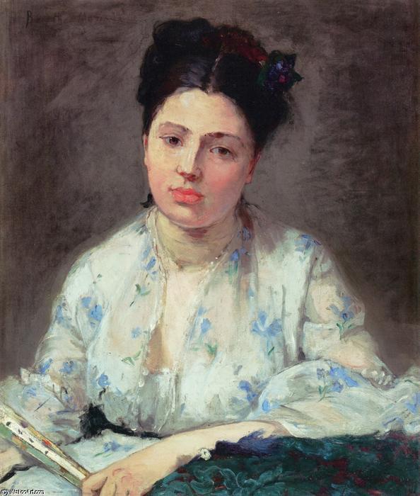 Junge Frau, 1871 von Berthe Morisot (1841-1895, France