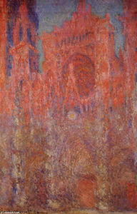 Claude Monet - Rouen Cathedral - (paintings reproductions)